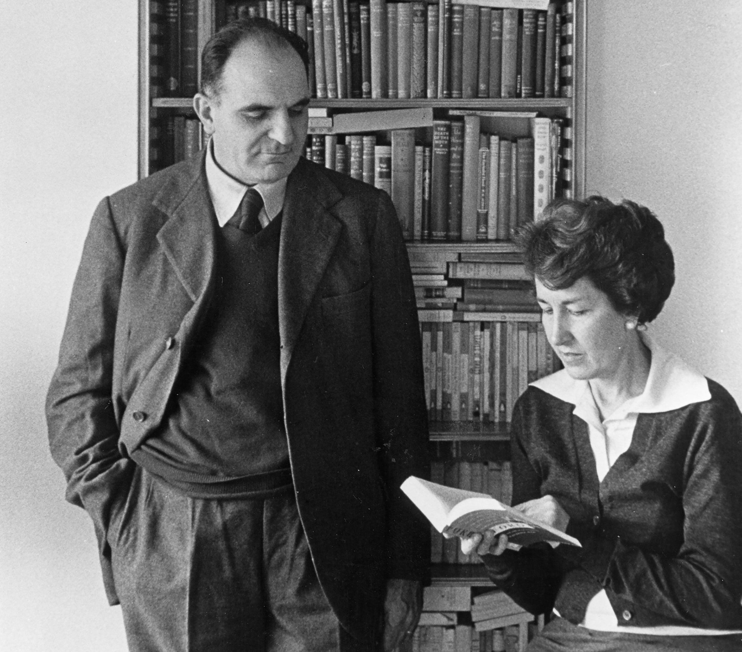 Attilio Bertolucci amb Ninetta Giovanardi, esposa del poeta